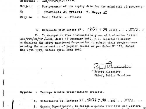 Documenti comprovanti la concessione contributo G.M.A. a fondo perduto